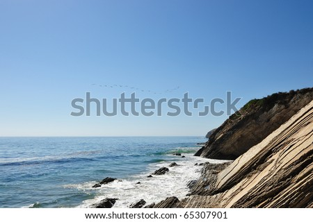 Gaviota State Park - stock photo