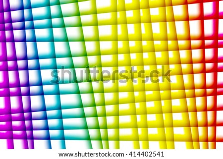 Gay pride flag colors used to create abstract background - stock photo