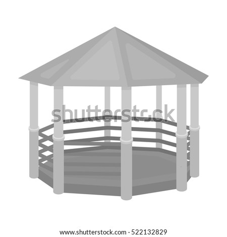 Stock images royalty free images vectors shutterstock for Gazebo dwg