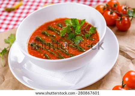 Gazpacho - stock photo