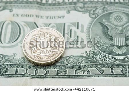 GBP/USD - stock photo