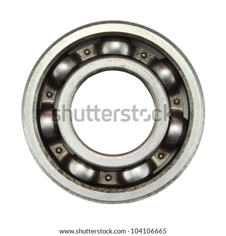 gear bearing of the machine - stock photo