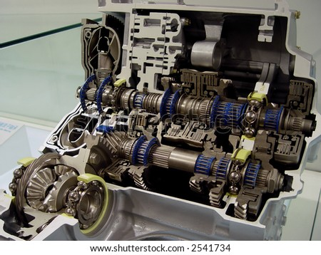 gear-box - stock photo