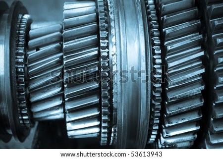 gear gearbox - stock photo