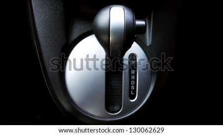 Gear Lever or Shift Lever - stock photo