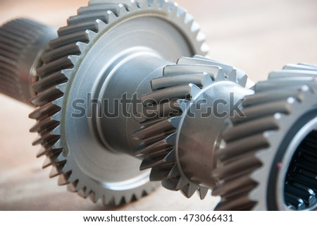 gear transmission close up