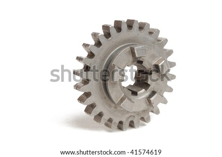 gear wheel isolated on white