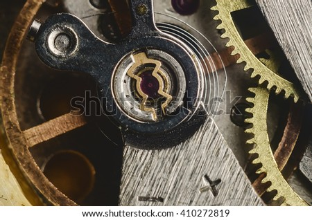 Gearwheel from old clock
