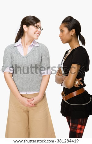 Geek and rebel - stock photo