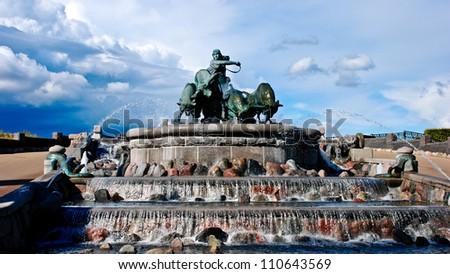 Gefion Fountain - stock photo