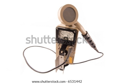 Geiger Counter - stock photo