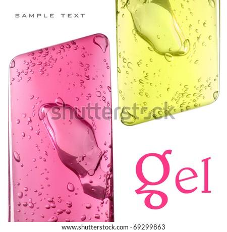 gel - stock photo
