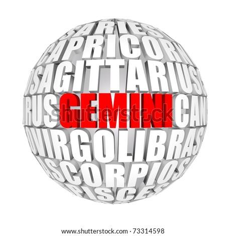 gemeni - stock photo