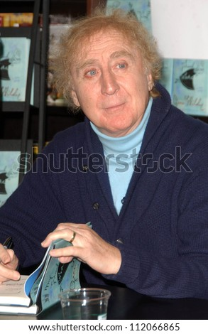 "Gene Wilder at an in store appearance to promote his book ""My French Whore"". Barnes and Noble The Grove, Los Angeles, CA. 03-07-07"