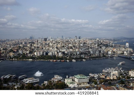 general view of Istanbul