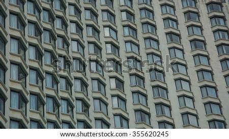 Generic Building. - stock photo