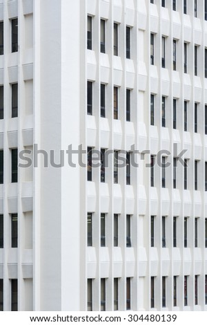 Generic Building background - stock photo