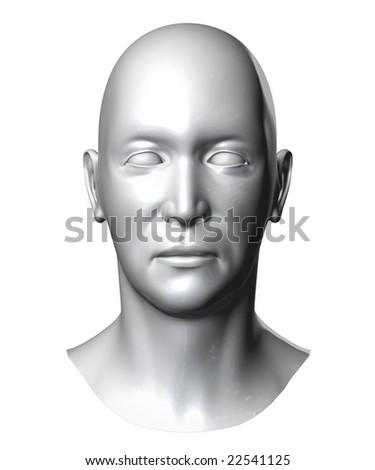 generic head - stock photo