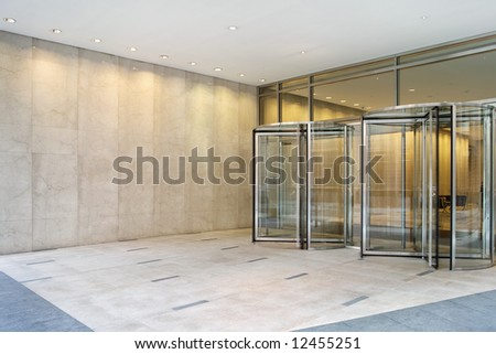 Generic office entrance