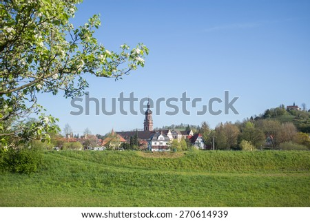 Gengenbach, Black Forest, Germany - stock photo