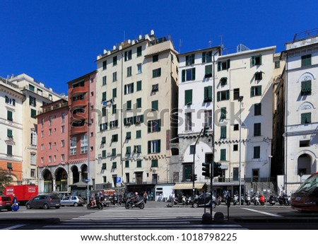Genoa stock images royalty free images vectors shutterstock - St scale cecina ...