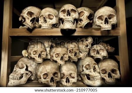 Genocides - stock photo