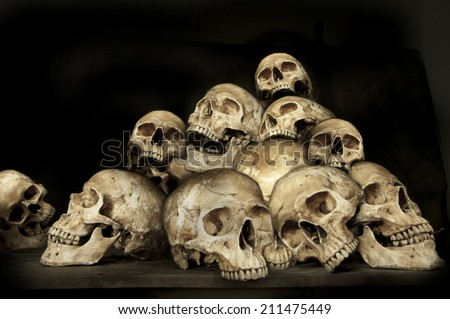 Genocides - stock photo
