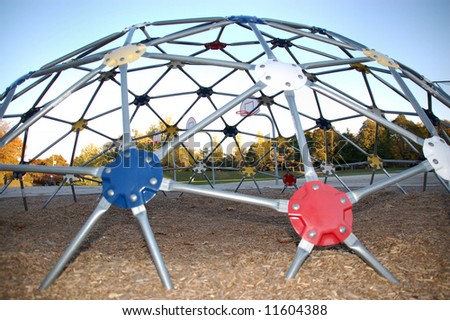 Geodesic Dome Schoolyard Stock Photo (Royalty Free) 11604388 ...
