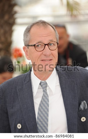 "Geoffrey Rush at the photocall for his movie ""Pirates of the Caribbean: On Stranger Tides"" at the 64th Festival de Cannes. May 14, 2011  Cannes, France Picture: Paul Smith / Featureflash"