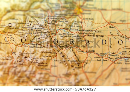 Colorado Map Stock Images RoyaltyFree Images Vectors - State of colorado map