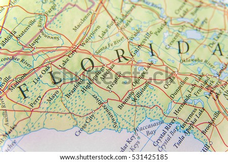 Florida State Map Stock Images RoyaltyFree Images Vectors - Florida state map