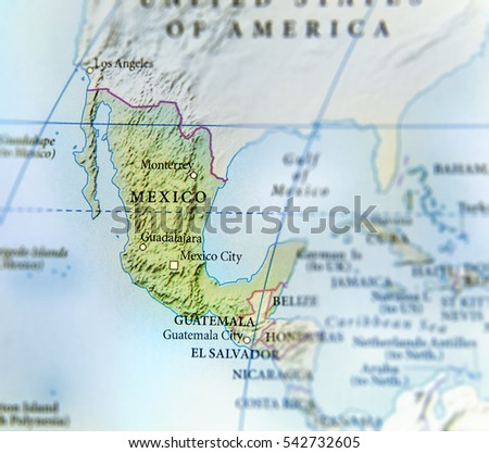 Mexico Map Stock Images RoyaltyFree Images Vectors Shutterstock