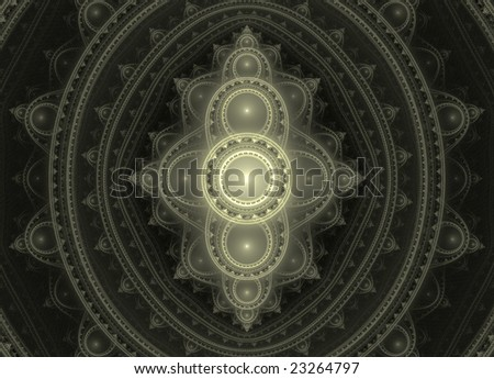 Geometric abstract background shaped as a shield