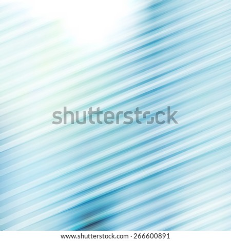geometric abstract backround with lines in light blue color - stock photo