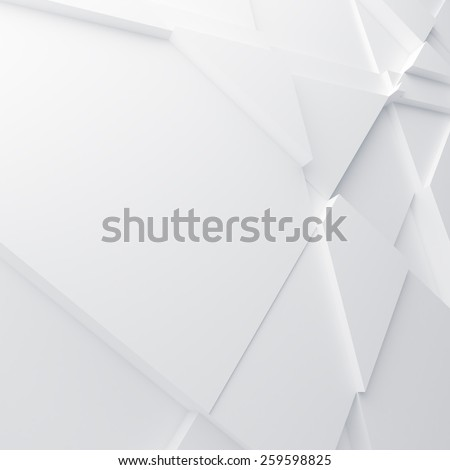 Geometric color abstract polygons, as wallpaper for room - stock photo