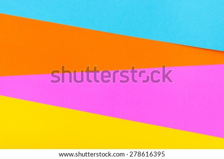 Geometric Colorful Paper Background - stock photo