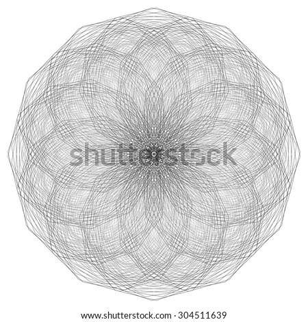 Geometric Design Pattern - stock photo