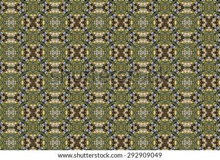 geometric green pattern. photo - stock photo