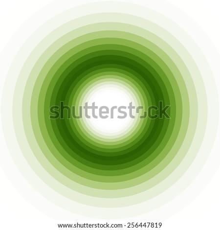 geometric green shades background - stock photo