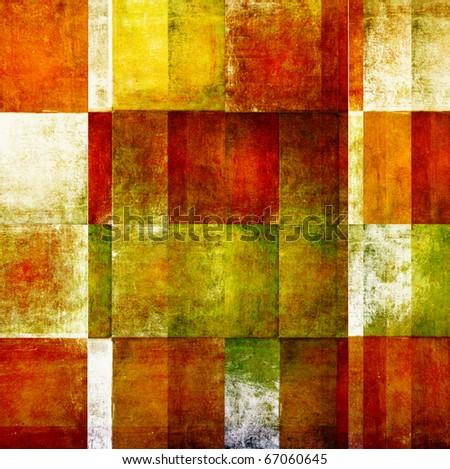 geometric grunge background - stock photo