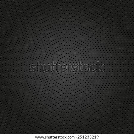 Geometric modern  pattern. Texture with round black dotted elements