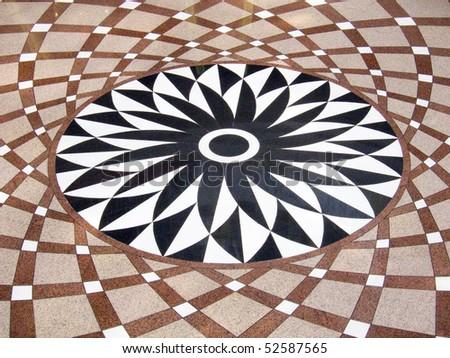 Geometric pattern - stock photo