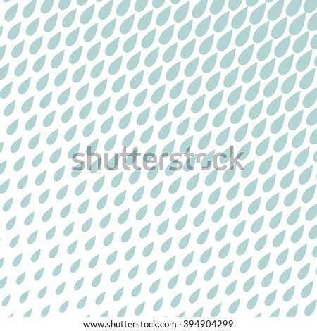 Geometric pattern rain. Blue and white ornament,  background.