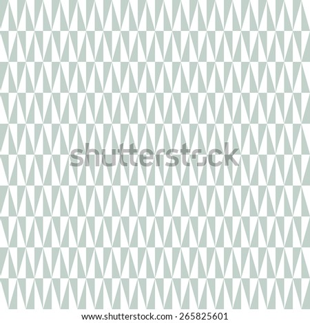 Geometric  pattern with blue and white triangular elements. Seamless abstract texture for wallpapers and backgrounds - stock photo