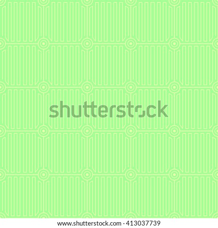 Geometric pattern with outline circles. Abstract delicate pattern for backgrounds, wallpapers, invitations, textile and web textures. Tileable. - stock photo