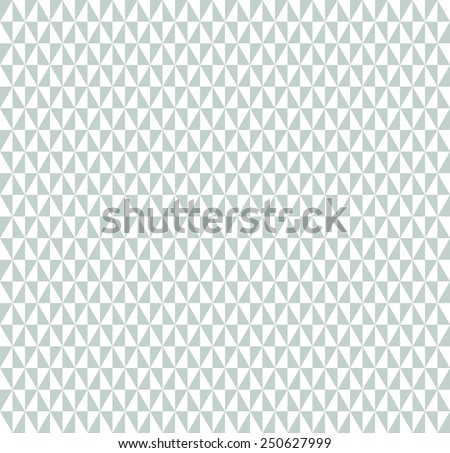 Geometric  pattern with triangular blue and white elements. Seamless abstract ornament for wallpapers and backgrounds - stock photo