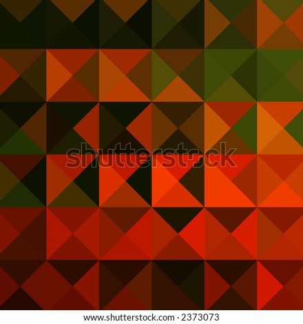 geometric red and green abstract design for webpage or other graphic or artistic piece.