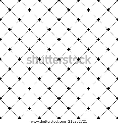 Geometric repeating  pattern. Seamless abstract modern texture for wallpapers and background