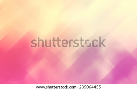 geometric shape background abstract design, random pattern of triangle hexagonal and trapezoid angle mosaic or stained glass pieces effect, pink red yellow and purple color tone, modern background - stock photo