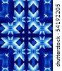 geometric shape cross window tile abstract - stock vector